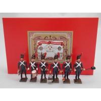 Coffret Luxe 6 Figurines CBG Mignot Régiment des Artilleurs de la Garde