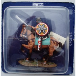 Del Prado rider Lombard 11th century figurine