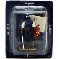 Del Prado french Crusader 1291 figurine