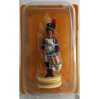 Figurine Altaya Tambour de Grenadiers de la Garde Pion Blanc