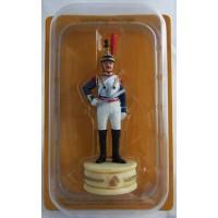 Figurine Altaya Cuirassier 9e Régiment Cavalier Blanc