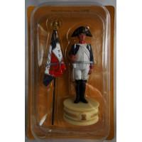 Figurine Altaya Porte Drapeau 4e Rgt Infanterie Ligne Tour Blanche