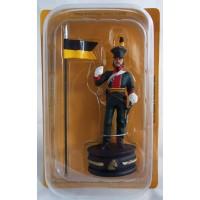 Figurine Altaya Uhlan Autrichien Cavalier Noir