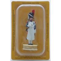 Figurine Altaya Sapeur d'Infanterie de ligne Pion Blanc