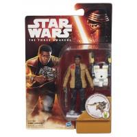 Figura de acción de Hasbro Star Wars Finn FN-2187