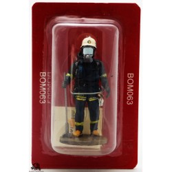 Del Prado firefighter outfit fire Stockholm Sweden 2003 figurine
