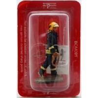 Estatuilla de bombero del Prado contra bosque dispara Francia 2003
