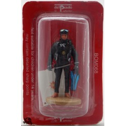 Del Prado firefighter diver Madrid 2003 figurine
