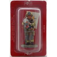 Figurine Del Prado Pompier Tenue de feu Norfolk Etats-Unis 2004