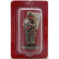 Fuoco di vigile del fuoco del Prado tenuto figurina Madrid Spagna 2004