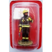 Equipaggiamento da vigile del fuoco Londra Gran Bretagna 2003