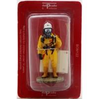 Figurine Del Prado Pompier Tenue CMIC Stockholm Suède 2002