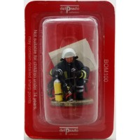 Figurine Del Prado Pompier Tenue de feu Gottingen Allemagne 2004