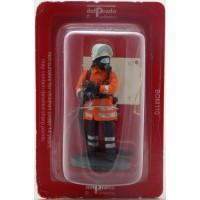 Figurine Del Prado Pompier Tenue de feu Allemagne 2000