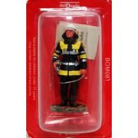 Figurine Del Prado Pompier Tenue de Feu Munich Allemagne 2003