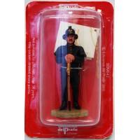 Figurine Del Prado Pompier Tenue de Feu Bruxelles Belgique 1910