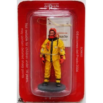 Figurine Del Prado diver anti-cold Canada 2003