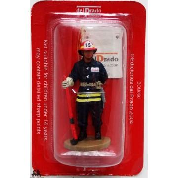 Figurina del Prado pompiere Bangkok Thailandia, 1975