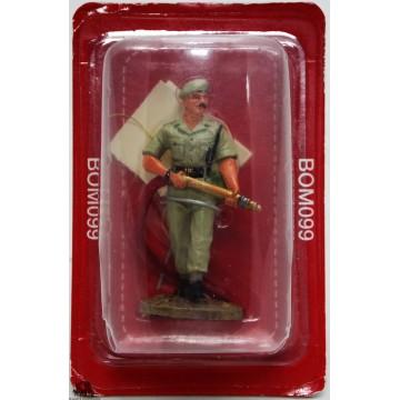 Fuoco di vigile del fuoco del Prado tenuto Delhi India 2003 figurina