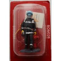 Figurina Del Prado da vigile del fuoco Hong Kong 2003