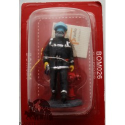 Figurine Del Prado firefighter outfit fire Hong Kong 2003