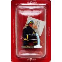 Figurine Del Prado Pompier Tenue de Feu Punta Arenas Chili 1995