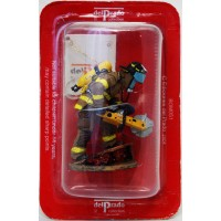 Figurine Del Prado Pompier Tenue de feu New York Etats-Unis 2003