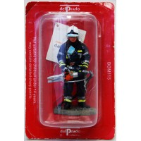 Figurine Del Prado firefighter outfit fire Brussels Belgium 2003