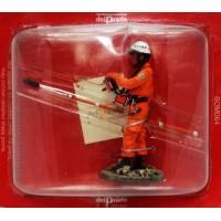 Figurina Del Prado soccorso vigili del fuoco Giappone 2002
