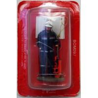 Figurine Del Prado Pompier Tenue de feu Vienne Autriche 2004