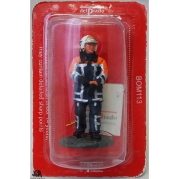 Figurine Del Prado Pompier Tenue de Feu Pays-Bas 2003