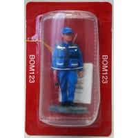 Figurina Del Prado pompiere vestito sanitari Portogallo 2005