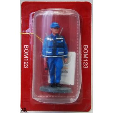 Figurine di salute Portogallo 2005 del Prado pompiere vestito