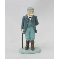 Ufficiale di figurina Ussaro francese Hachette