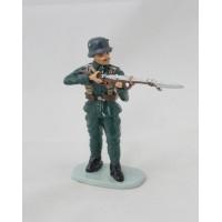 Hachette francese soldato al fuoco figurina