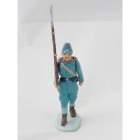 Hatchet German soldier to fire figurine