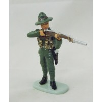 Soldato tedesco Hatchet al fuoco figurina