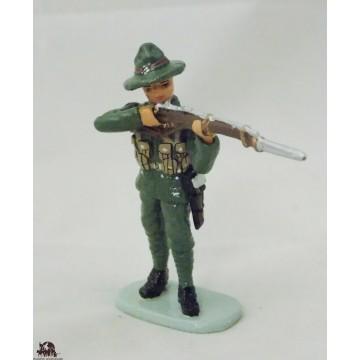 Figurine Hachette Soldat Néo Zélandais au feu