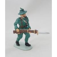 Figura del soldato neozelandese hatchet del fuoco