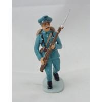 Figura de soldado italiano de soldado de infantería de Hachette
