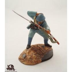 Figurine Atlas Fantassin en Tenue d'Assaut 1917