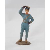 Figurina di Atlante ufficiale militare aeronautica 1917