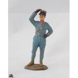 Atlas officer military Aeronautics 1917 figurine