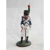 Del Prado Zapador joven guardia a Francia 1809