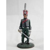 Del Prado caballería guardia oficial de 1814