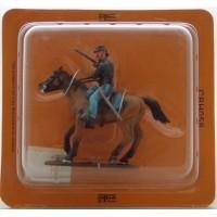 Del Prado sargento caballería 1872 Estados Unidos estatuilla del jinete americano