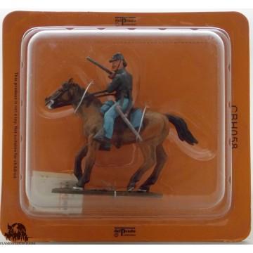 Figurine Del Prado Cavalerie Armée de l'Union Guerre de Sécession 1861