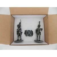Figurine MHSP Atlas Grenadier de la Garde + Bagage + Fusilier