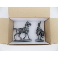 Figurine MHSP Atlas Cheval Cavalerie + Tambour Artilleur à pied