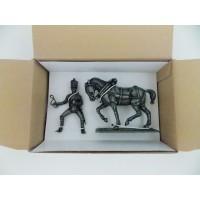 N ° 17-Fuß MHSP Atlas Pferd Kavallerie Stempel + Trommel Kanonier